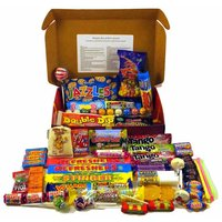 PERSONALISED Bumper Box Of Retro Sweets (The Gift You Don't Need To Wrap!) - Retro Sweets Gifts