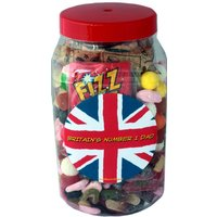 Britain's Number 1 Dad Retro Sweets Selection Jar - Retro Sweets Gifts
