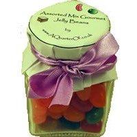 Dinky Glass Jar - Assorted Gourmet Jelly Beans