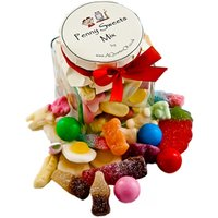 Glass Gift Jar - Penny Sweets Mix - Sweets Gifts