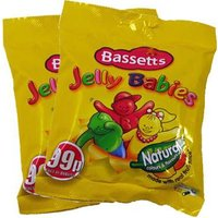 Bassetts Jelly Babies (2 Bags) - Bags Gifts