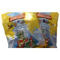 Bassetts Jelly Babies Snowmen (2 Bags) - A Quarter Of Gifts