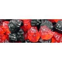 Jelly Blackberries and Raspberries