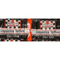 Liquorice Toffee Slabs
