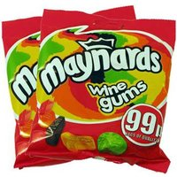 Maynards/Bassetts Wine Gums (2 Bags) - A Quarter Of Gifts