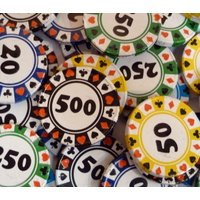 Milk Chocolate Casino Chips - Casino Gifts