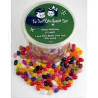 Personalised Gourmet Jelly Beans Bucket (20+ designs)