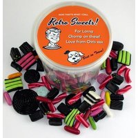 Personalised Liquorice Selection Bucket (20+designs)