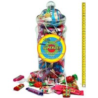 It's A Foot Of Sweets! Jumbo Personalised Jar Of Swizzels Sweetshop Classics