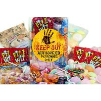Top 20 Retro Sweets Jar With A andquot;KEEP OUTandquot; Label - Sweets Gifts
