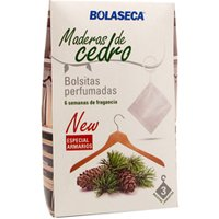 BOLASECA BOLSITAS PERFUMADAS CEDRO L-3