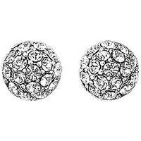 Pilgrim Silver Mai Disco Ball Earrings