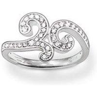 Thomas Sabo Silver Ring - Ring Size 56