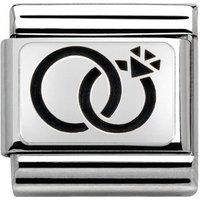 Nomination Silvershine Wedding Rings Charm