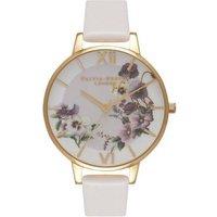 Olivia Burton Pansy Blush & Gold Watch