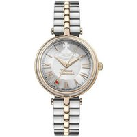 Vivienne Westwood Silver and Rose Gold Farringdon Watch