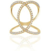 Sif Jakobs Gold Fucino Ring - Ring Size 54
