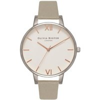 Olivia Burton Grey, Silver & Rose Gold Watch