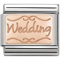 Nomination Rose Gold Wedding Charm