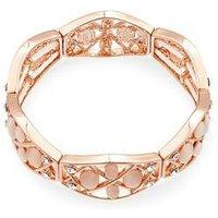 August Woods Blush Pink Crystal Bracelet