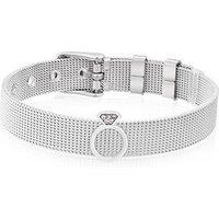 Karma Silver CZ Ring Charm