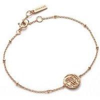 Ania Haie Rose Gold Medallion Bracelet - Rose Gold