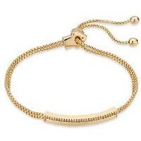 August Woods Gold Crystal Long Bracelet - Assorted