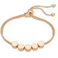 August Woods Rose Gold Crystal Ball Bracelet - Assorted