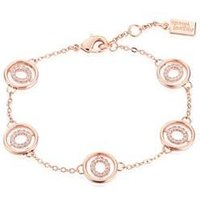 August Woods Rose Gold Dimples Bracelet