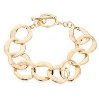 August Woods Gold T-Bar Circlet Bracelet