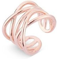 August Woods Rose Gold Chunky Ring