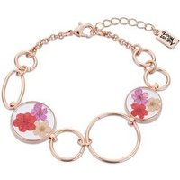 August Woods Rose Gold Hidden Flower Bracelet