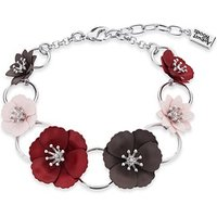 Dirty Ruby Silver Utility Floret Necklace