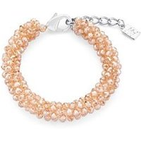 August Woods Champagne Beaded Bracelet