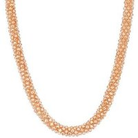 August Woods Champagne Beaded Necklace