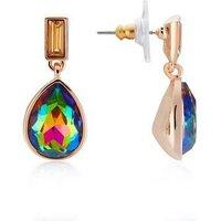 August Woods Rose Gold Ombre Teardrop Earrings - Rose Gold