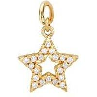 Storie Gold Star Pendant Charm - Gold