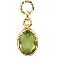 Storie Gold August Pendant Charm - Gold