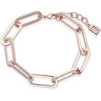 August Woods Rose Gold Rectangle Link Bracelet - Rose Gold