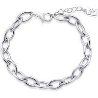 August Woods Silver Fine Link Bracelet - Silver