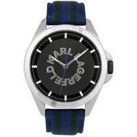 Karl Lagerfeld Karl Watch SS GUN Logo Striped