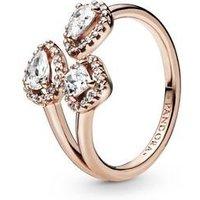 Pandora Rose Geometric Shapes Open Ring - 52 Pandora Ring