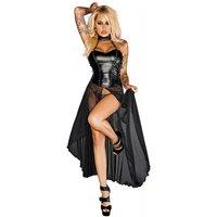 Noir Handmade Bustier Kleid
