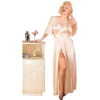 1930s Lounging Robe Peach