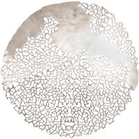 Product photograph showing Coral Shoreline Round Disc Wall Art