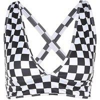 Checkerboard Crop Top