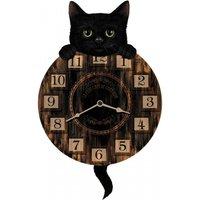 Kitten Tickinand#039; Clock