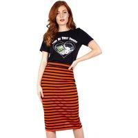 Marnie Striped Pencil Skirt