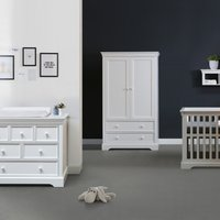 Kidsmill Chateau Babykamer Wit Bed 60 X 120 Cm Commode