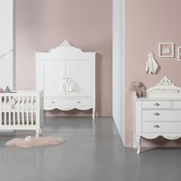 Kids Factory Romance Babykamer Wit Bed 70 X 140 Cm